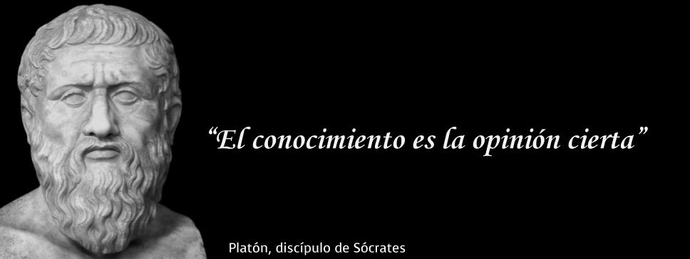 Platón Conocimiento