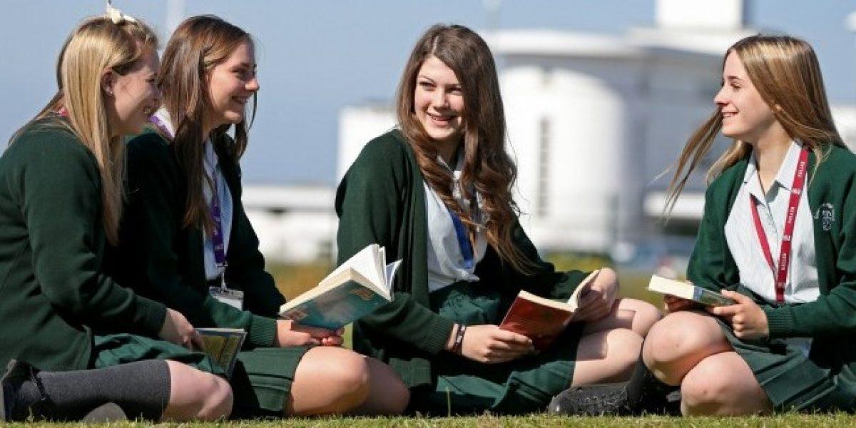 estudiantes Irlanda